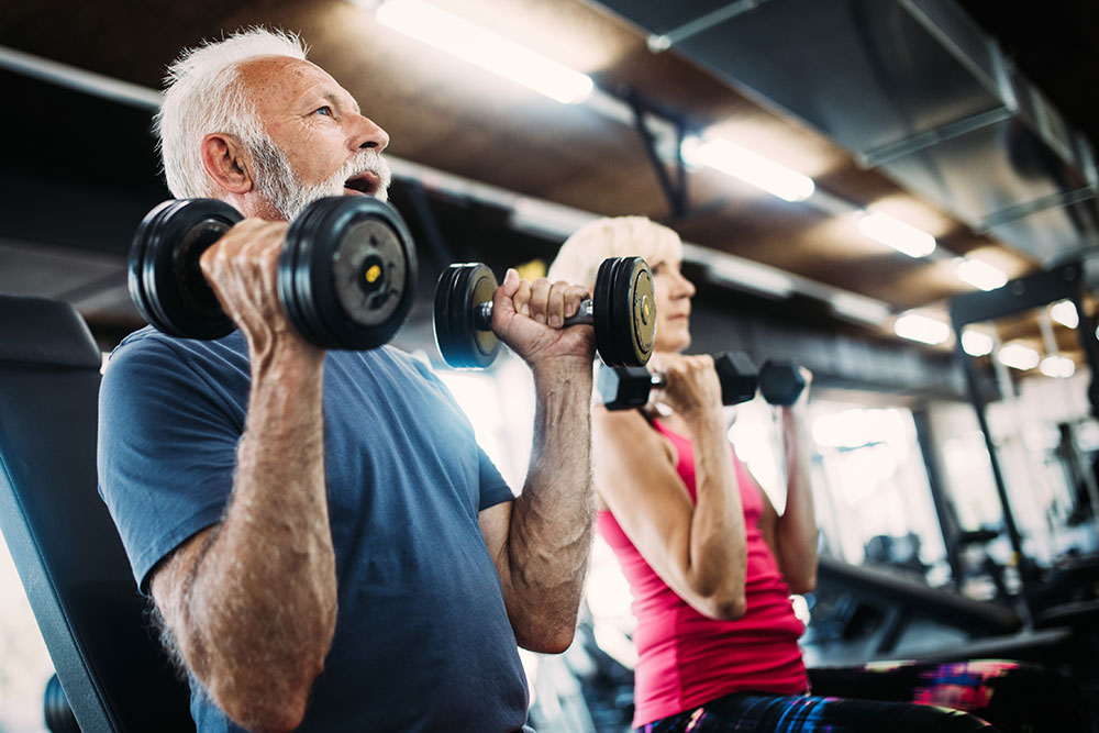 How Long Does Testosterone Therapy Takes to Work Middle-Aged People Exercising