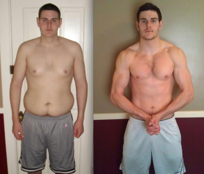 HGH Results Before and After Pictures of Men
