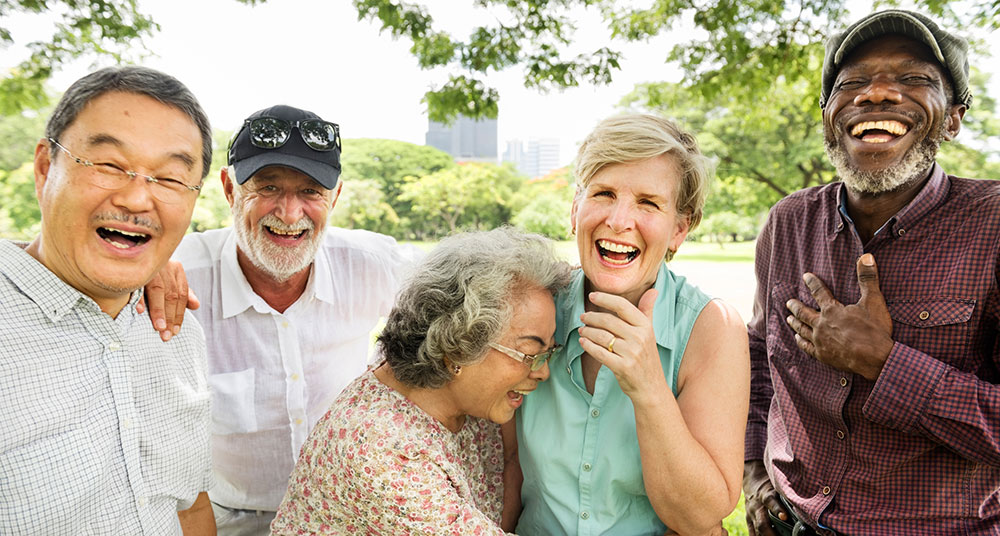 Somatropin Buy Older People of Different Nations Laughing