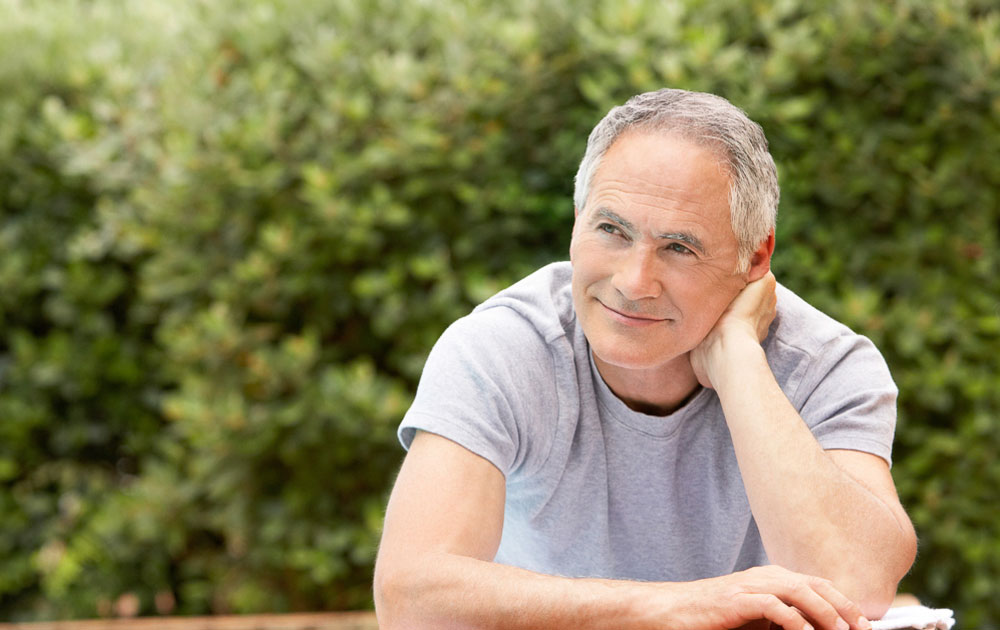 Testosterone Injections Before and After Photos Happy Older Man