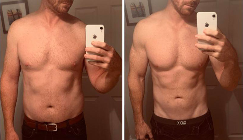 Testosterone Replacement Therapy Before and After Pictures of Men